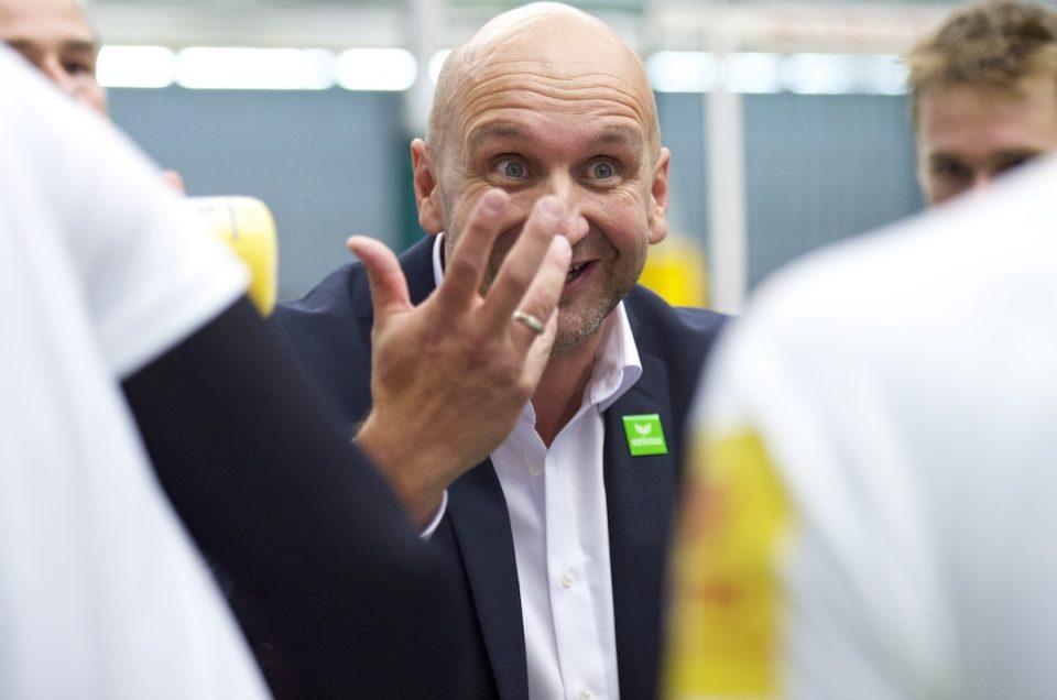 VfB Friedrichshafen Volleyball Bundesliga-Auftakt mit Vital Heynen